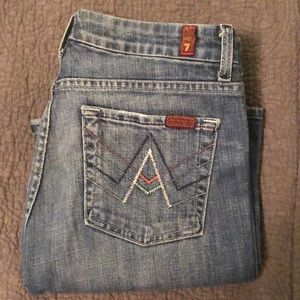 Seven for all man kind jeans sz27